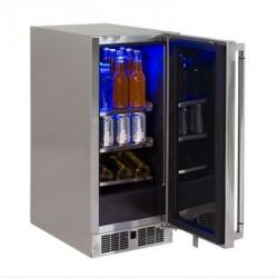"Refrigerador 15"" bajo cubierta para exterior LYNX modelo LM15REFL"