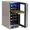 """Enfriador de Vinos LYNX Bajo Cubierta (Para exterior) 15"""" - LM15WINEL"""