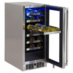 """Enfriador de vinos para exterior 15"""" bajo cubierta LYNX modelo LM15WINEL"""