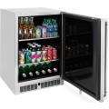 "Enfriador de bebidas para exterior c/dispensador 24"" bajo cubierta modelo LM24BFL"