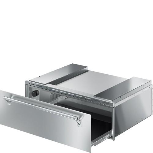 """Cajón Calientaplatos SMEG 30"""" - CTU330X"""