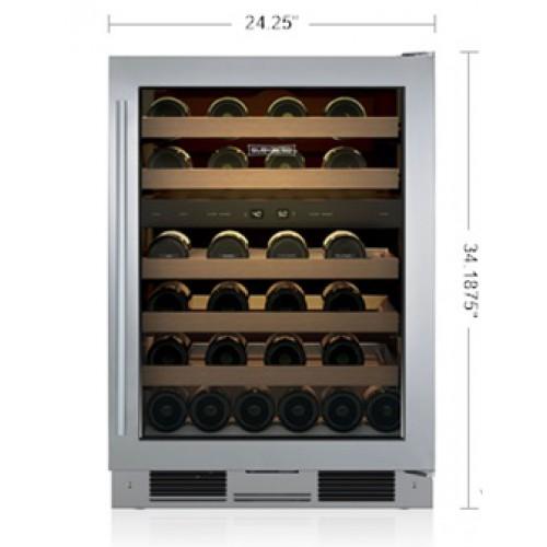 "Cava de Vino SUB-ZERO Bajo Cubierta (Jaladera Tubular Derecha) 24"" - UW-24/S/TH-RH"