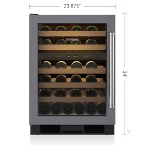 "Cava de Vino SUB-ZERO Bajo Cubierta (Panelable Jaladera Izquierda) 24"" - UW-24/O-LH"