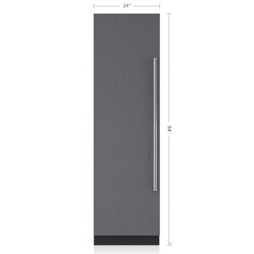 """Refrigerador/Congelador SUB-ZERO Empotre (Panelable Jaladera Izquierda) (Maquina de Hielos) 24"""" - IC-24CI-LH"""