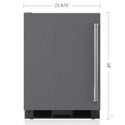 """Refrigerador SUB-ZERO Bajo Cubierta  (Jaladera Tubular Izquierda) 24"""" - UC-24R/TH-LH"""