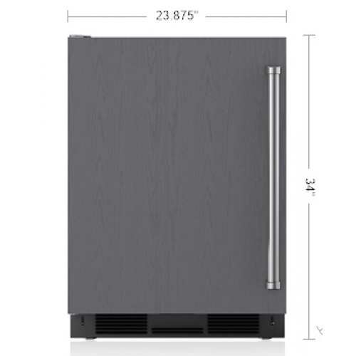 """Refrigerador SUB-ZERO Bajo Cubierta  (Jaladera Profesional Izquierda) 24"""" - UC-24R/PH-LH"""