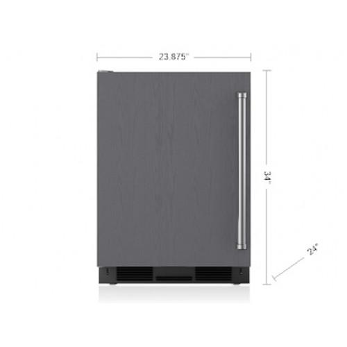 """Refrigerador/Congelador SUB-ZERO Bajo Cubierta (Panelable con Maquina de Hielos - Bisagra Izquierda) 24"""" - UC-24CI-LH"""