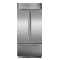 """Refrigerador/Congelador SUB-ZERO Empotre (Jaladera Tubular) 36"""" - BI-36UFD/S/TH"""