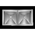 Fregadero TECNOLAM Submontar (Doble Tina) - GLAMOUR87,5X45 2V