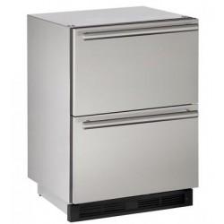 """Cajones Refrigerantes U-LINE Bajo Cubierta (Para exterior) 24"""" - UODR124-SS61A"""