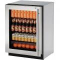 """Refrigerador U-LINE Bajo Cubierta (Con Cerradura y Bisagra Izquierda) 24"""" - U-2224RGLS-15B"""