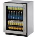 """Refrigerador U-LINE Bajo Cubierta (Con Cerradura y Bisagra Izquierda) 24"""" - U-3024RGLS-15B"""