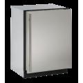 """Refrigerador 24"""" bajo cubierta U-Line modelo U-3024RS-00B (SS)"""